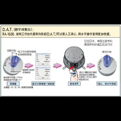日本三丰 圆度仪RA1600-DAT数字调整台