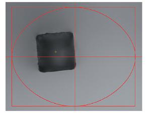 三丰影像仪测量工件