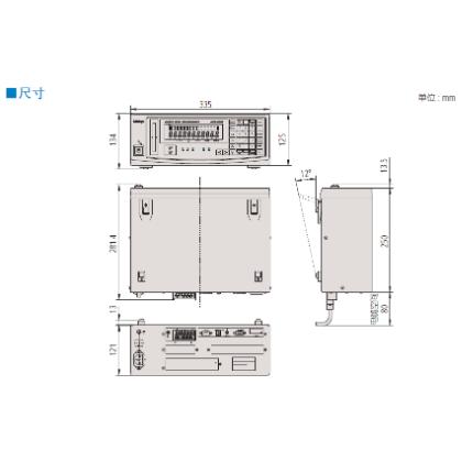 三丰激光测径仪LSM-62001