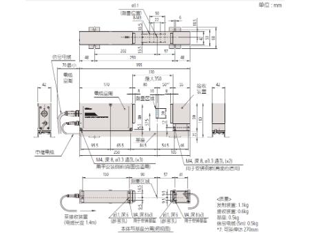 三丰激光测径仪LSM-503S 544 系列 —  (测量装置)