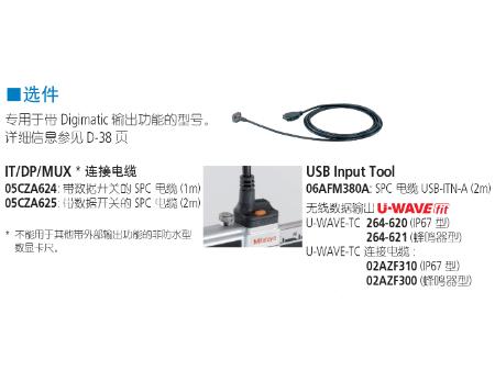 三丰带防冷却液卡尺500 系列 — 达到 IP67 尘/ 水防护标准