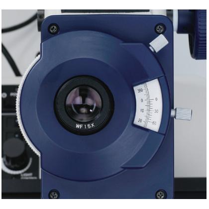 三丰工具显微镜 角度分度值