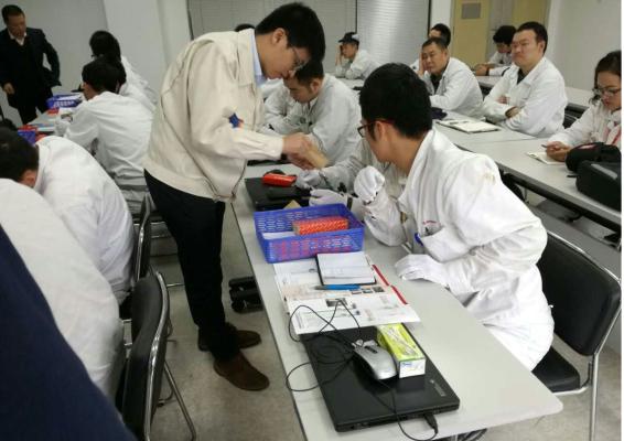 日本三丰给东本免费培训
